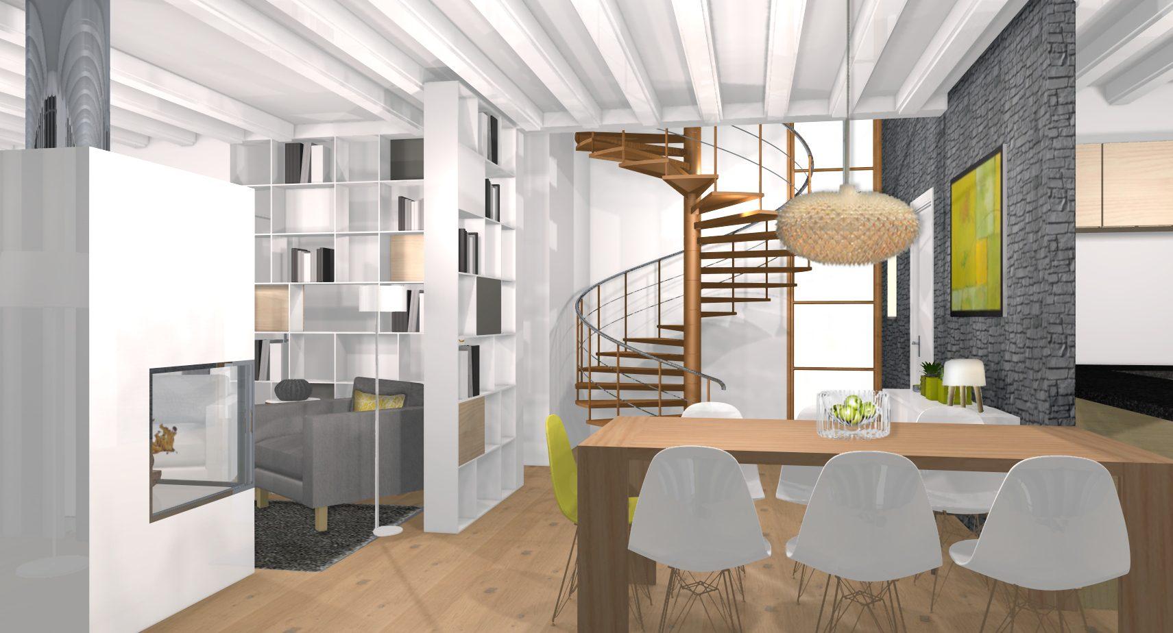 Un architecte d 39 int rieur pour r nover une vielle maison for Un architecte